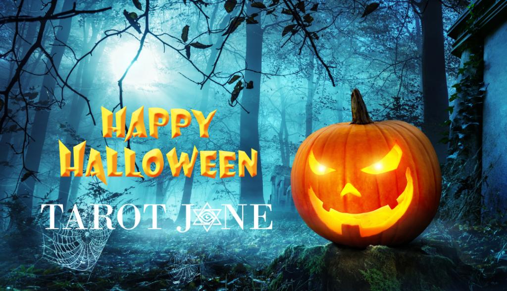 Happy Halloween from Tarot Jane